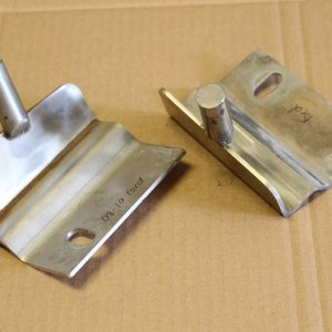 Ford 08-10 Stainless Steel Hood Brackets