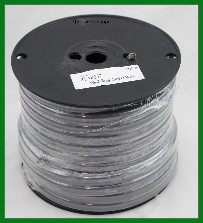 10 Gauge 2 Wire 100\' Foot Roll - The Trailer Shoppe