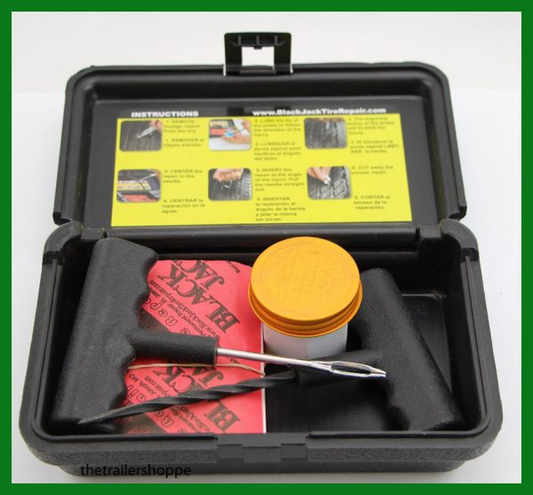 "BlackJack Passenger Compact Tire Repair Kit -20S-P 4"" Plugs"