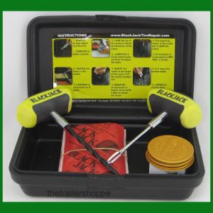 "BlackJack Passenger Compact Tire Repair Kit -20 4"" Plugs"