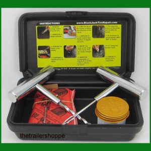 "BlackJack Passenger Compact Tire Repair Kit -20SC 4"" Plugs"