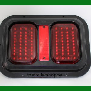 Dual Trailer Tail Lights -Surface Mount