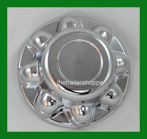 Quick Trim ABS Chrome Hub Cover Wheel Rim for 8 Lug