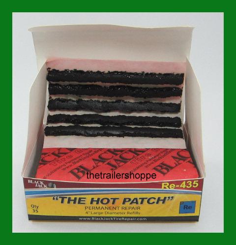 """Blackjack Tire Repair 4"""" Large Diameter -35 per box"""