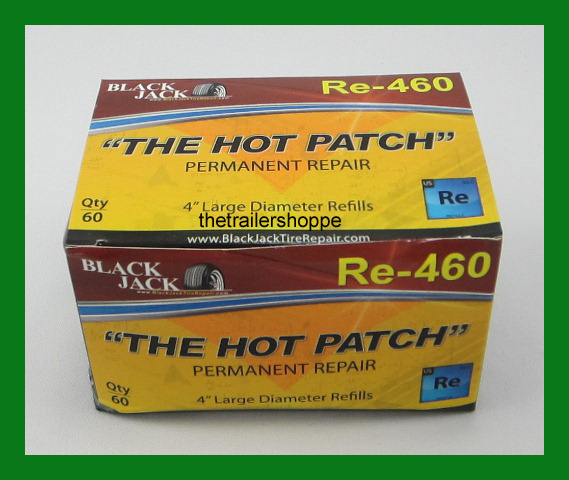 """Blackjack Tire Repair 4"""" Large Diameter -60 per box"""