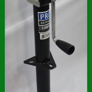 "Pro Series 2,000 Lbs Lift A-frame Jack Side Wind 14"" Lift"
