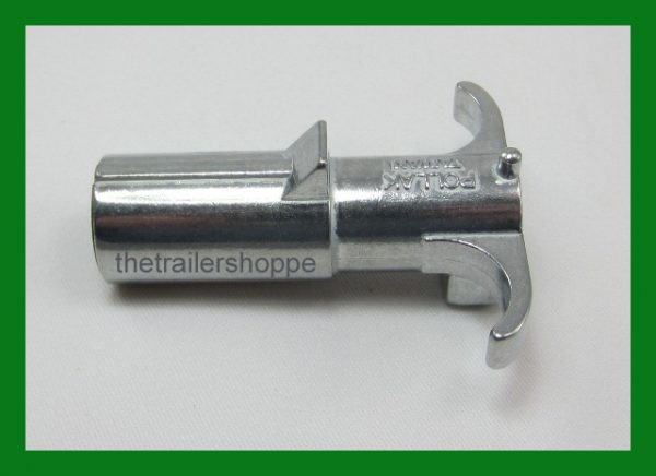 4 Pole Round Pin Male Plug Trailer End