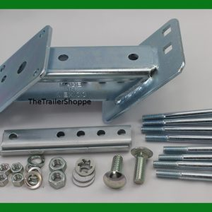 Spare Tire Mount Zinc Plated
