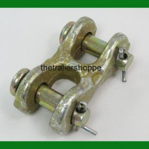 "Safety Chain Repair Link 5/16"" Twin Clevis G70 Trailer DOT Approved 4700 WLL"