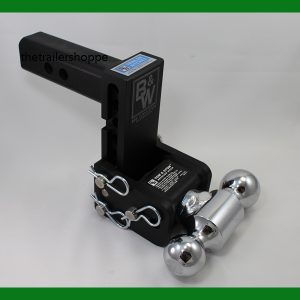 """Tow and Stow Adjustable Ball Mount 5"""" Drop"""