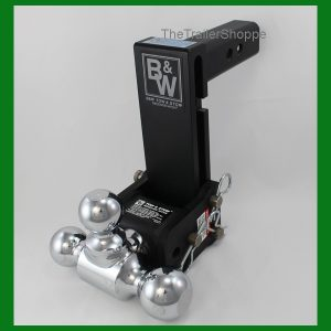 """Tow and Stow Adjustable Ball Mount 7"""" Drop"""