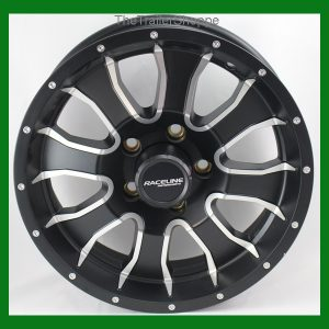 "Mamba 15""  Wheel with Black Detail 8 Spoke 5 on 4.5"