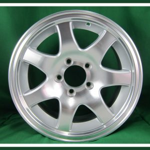Aluminum 5 Lug 7 Spoke Wheel 14""