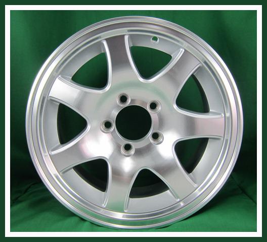 """Aluminum 5 Lug 7 Spoke Wheel 14"""""""