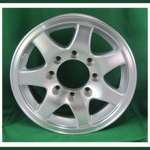 "Aluminum 16"" 8 Lug Spoke Wheel"