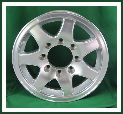 """Aluminum 16"""" 8 Lug Spoke Wheel"""