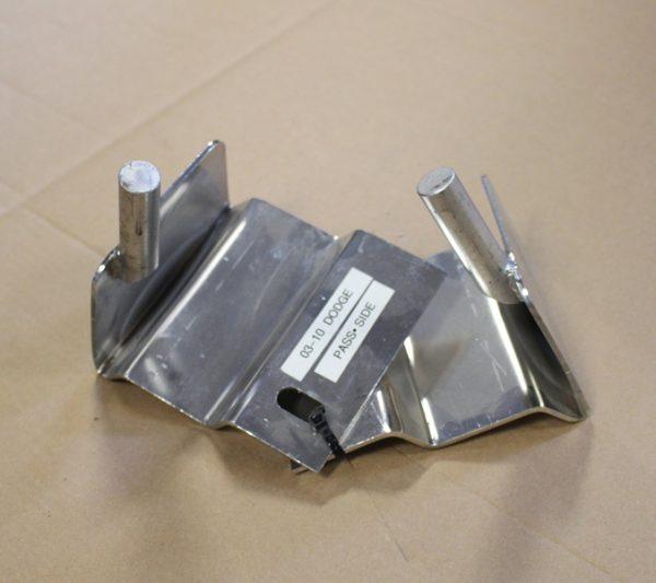 Dodge 03-10 Stainless Steel Hood Brackets
