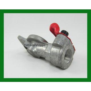 Velvac Gladhand Air Brake Red Emergency Die Cast Aluminum