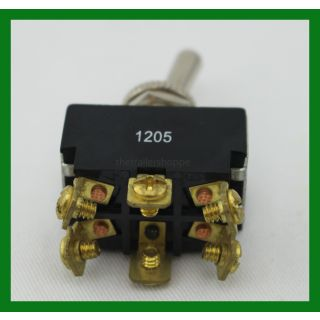 Toggle Switch - On-Off-On 6-Pole