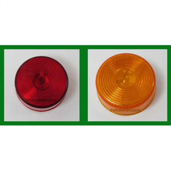 Clearance Marker 12 LED With SS Grommet -Hotdog Style