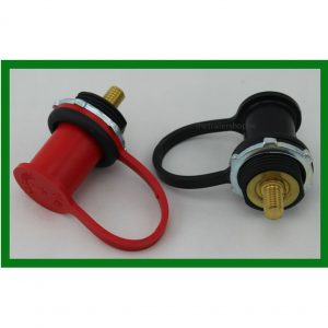 Battery Jumper Terminals Black & Red