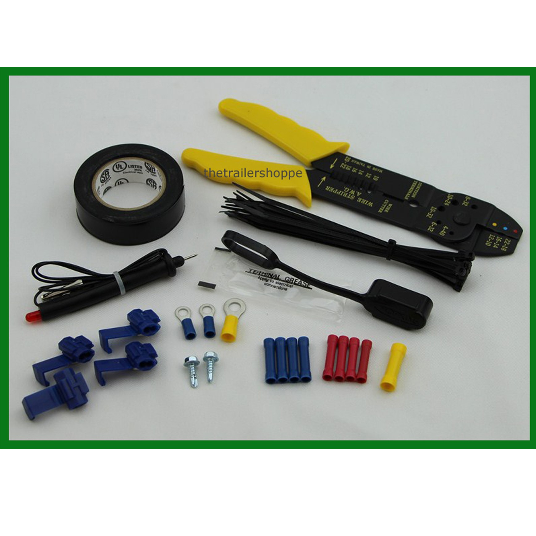 Amazing Trailer Wiring Installation Kit W Wire Tool 43 Pcs The Trailer Wiring Cloud Hisonuggs Outletorg