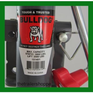 "BullDog Jack 2,000 Lbs. 10"" Travel Topwind Snap Ring"