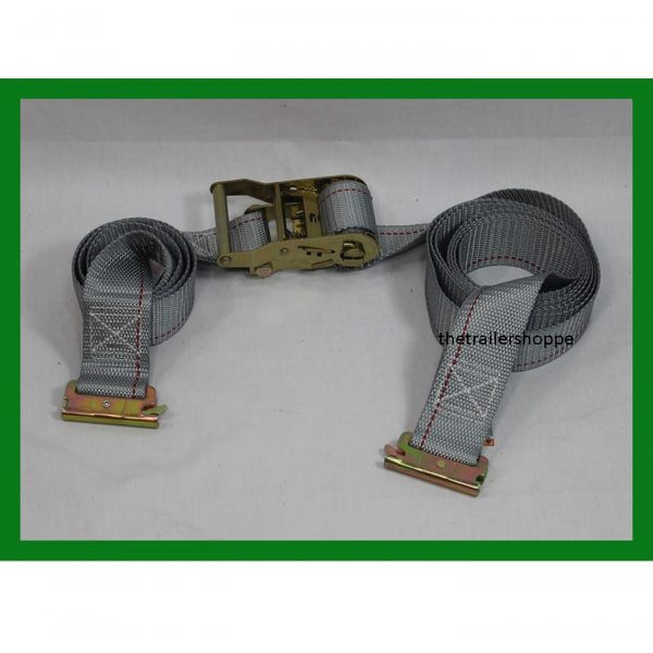 """Ratchet Strap w/ Spring E-Track Fittings 2"""" X 16'"""