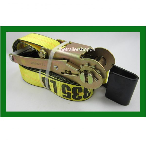 """Ratchet Strap with Flat Hook 2"""" x 30'"""