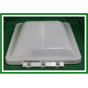 "Replacement Roof Vent Cover 14"" x 14"" Wedge Style"
