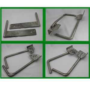 Chevy/GMC Stainless Steel Front Mount Sign Brackets