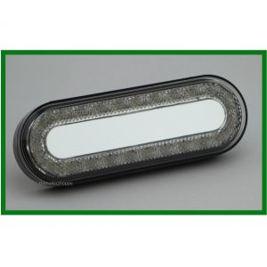 """Mirage"" White Light 6"" Oval 24 LED"
