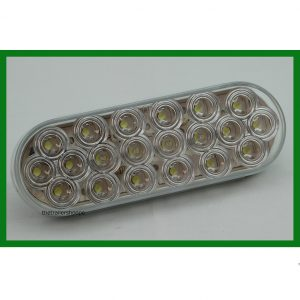 "Back Up Light 6"" Oval 20 LED"