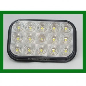 Rectangular 15 LED Back Up Light