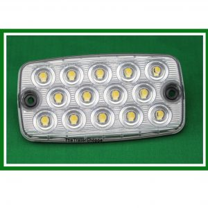 Rectangular Low Profile Oval 14 LED Back Up Light