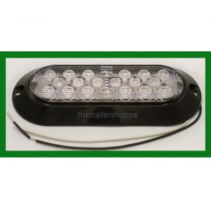 "Back Up Light Surface Mount 6"" Oval 18 LED"