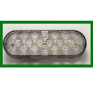 "Back Up Light 6"" Oval 18 LED"