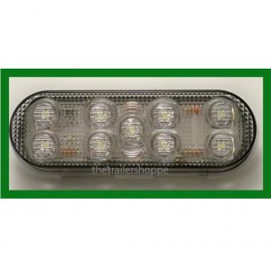 "Back Up Light 6"" Oval 9 LED"