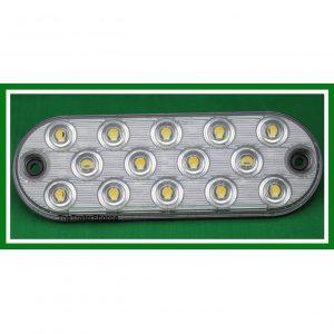 "Low Profile Oval 6"" 14 LED Back Up Light"