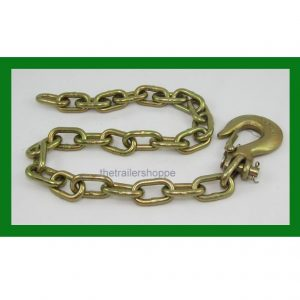"Safety Chain with Clevis Hook 1/4"" X 32"""