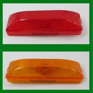 "Clearance & Side Marker Light 1"" X 4"""