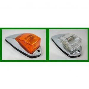 Chrome Cab Marker Light Amber 17 LED