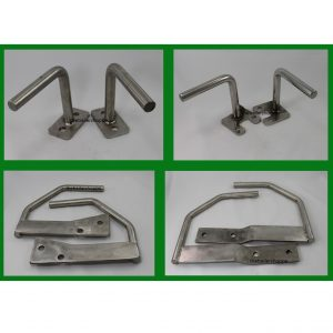 Dodge Stainless Steel Front Mount Sign Bracket