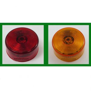 "Side Marker Clearance Light 2"" Round 9 LED"
