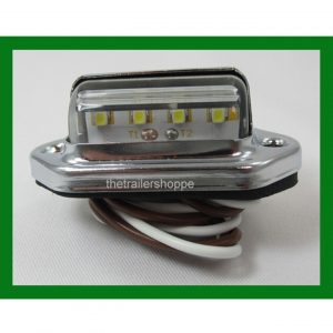 License Plate Light 4 LED White