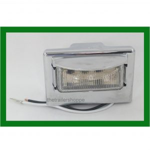 "License Plate Light 1-3/4"" X 3-1/2"""