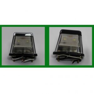 "License Plate Light 2-1/4"" X 2-3/4"" X 1-1/2"""