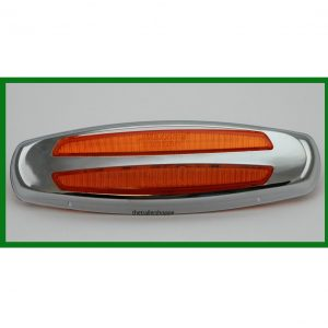 """Clearance Light with Stainless Steel Bezel 2"""" x 6"""""""