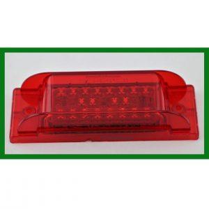 """Rectangular 2"""" X 6"""" 20 LED Red Marker Light"""