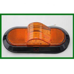 """Mid Turn Signal Light 6"""" Oval 9 LED"""